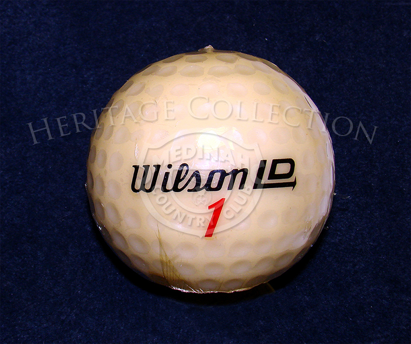 Candle from the 75th U.S. Open measured 4-inches in diameter.
