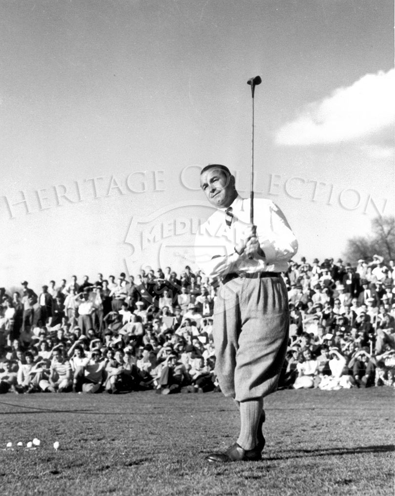Photo of Gene Sarazen at 1945 P.G.A Championship.