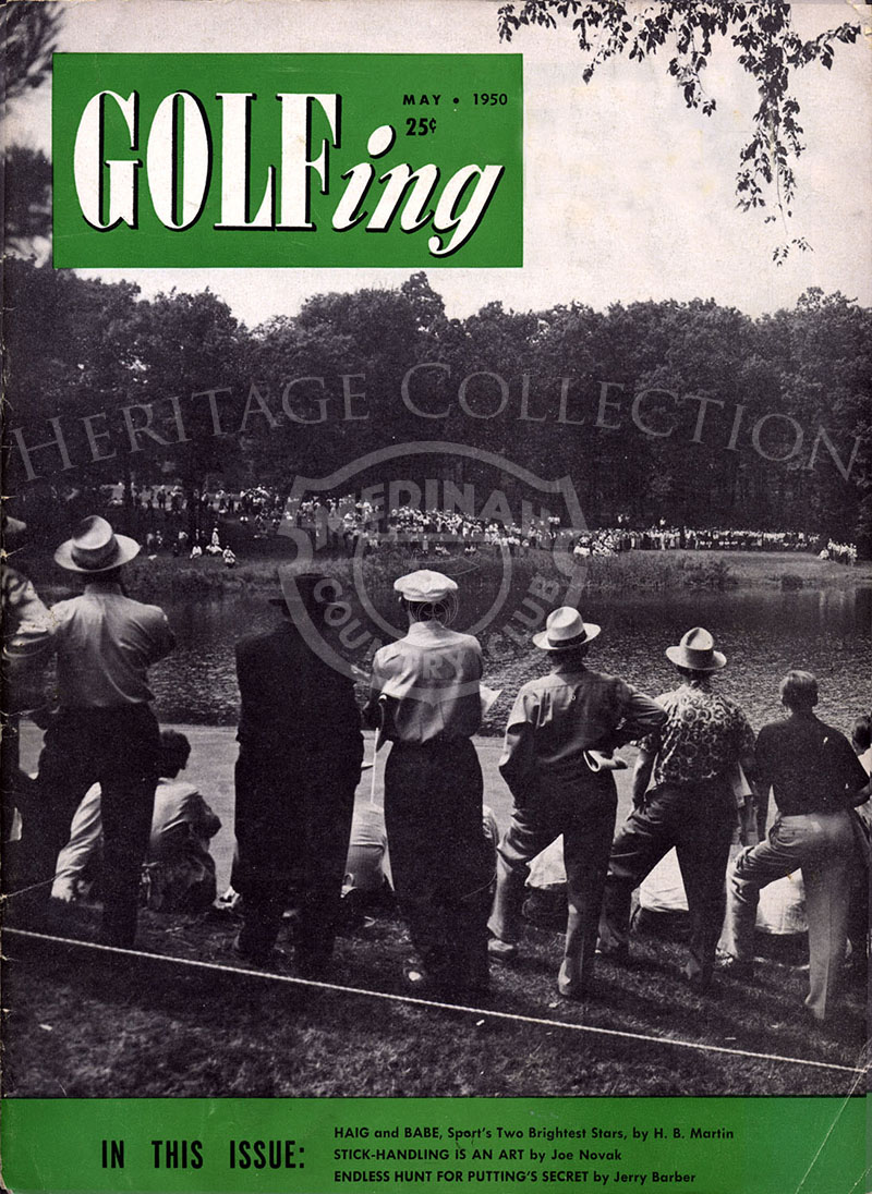 May 1950 Golfing magazine featuring the 49th U.S. Open.