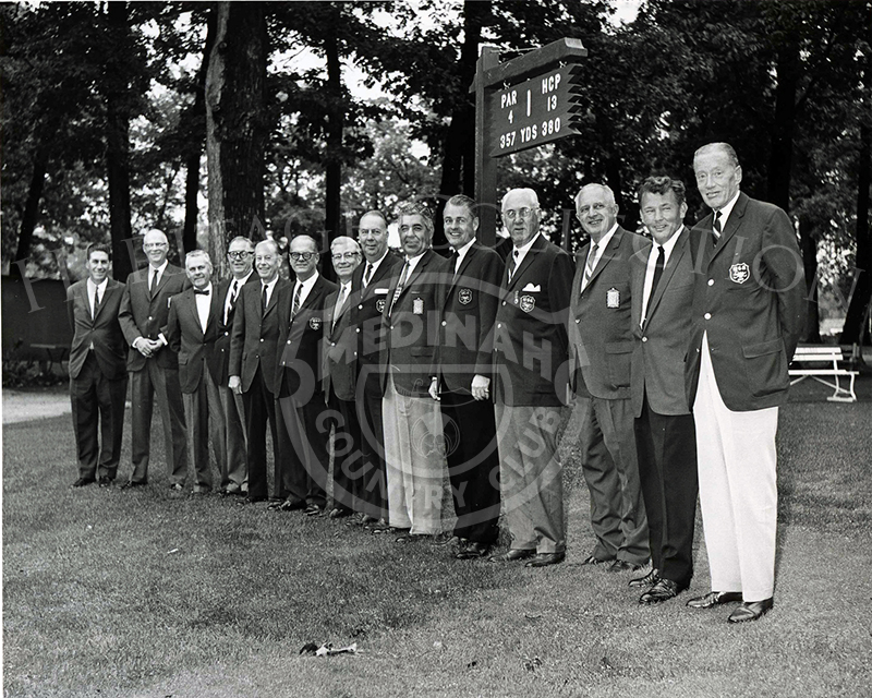 Western Golf Association and Medinah committees.