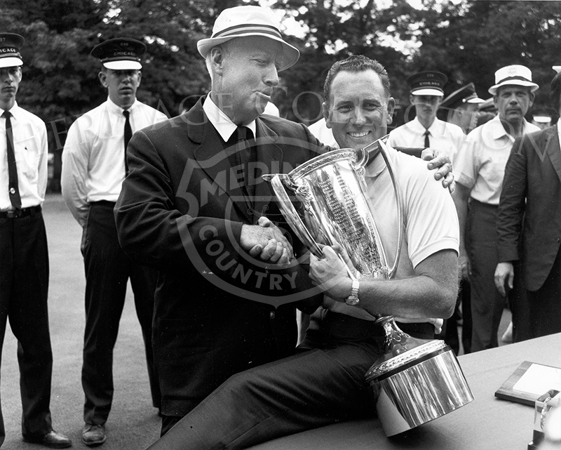 Chick Evans & Billy Casper