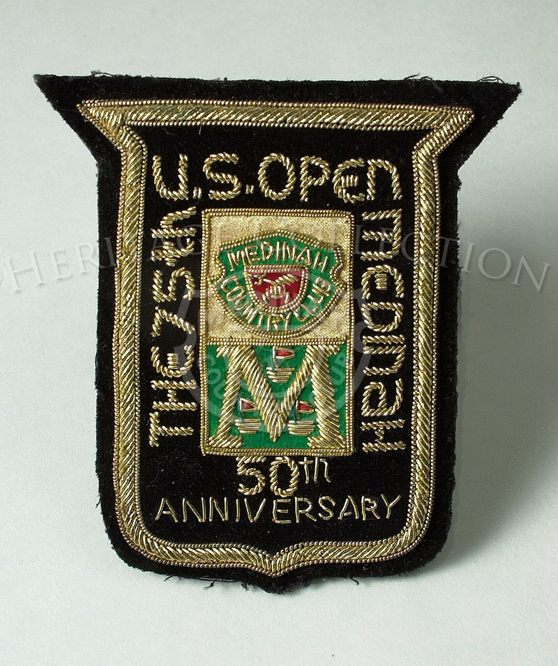 Embroidered patch celebrates the 75th U.S. Open at Medinah Country Club, as well as the golf club¦s 50th Anniversary.