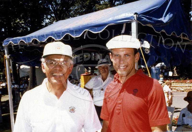 Members Ken & Pat Murphy (Father and Son) at the 1988 Senior Open.