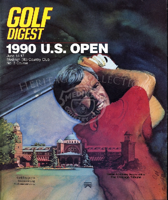 Golf Digest - June 14-17, 1990 edition-Us Open article, supplement to the Tribune.