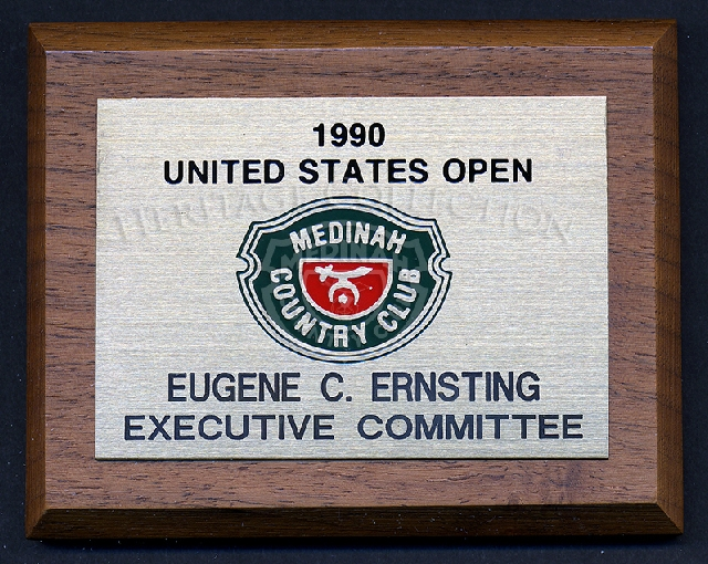 Wooden Plaque - Executive Committee-Eugene Ernsting-1990.
