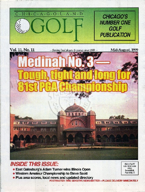 Chicagoland Golf - PGA article-Vol. 11 No. 11 Mid August 1999.