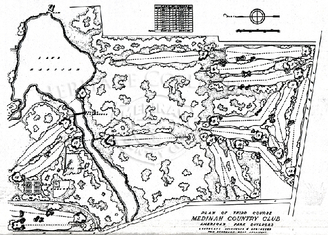 Chicagoland Golf - PGA Course Map-Vol. 11 No. 11 Mid August 1999.
