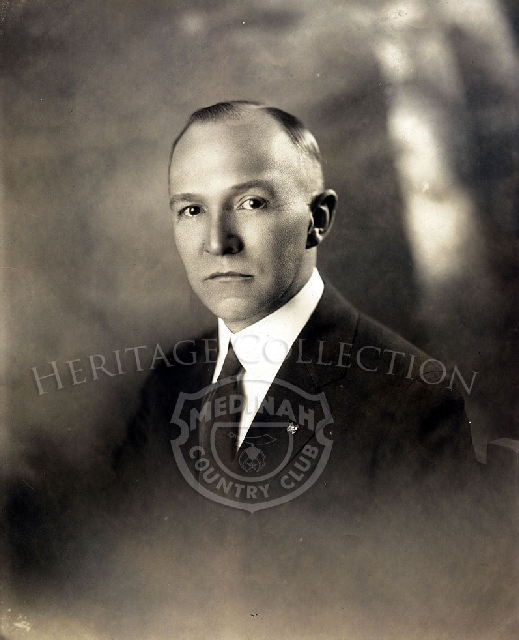 Photo of Henry Rudolph Lundblad - 2nd President- late 1920s.