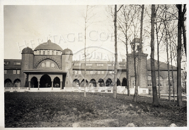 Historical Medinah front View of Clubhouse.