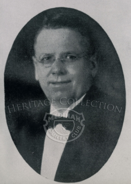 J.O.Kelso in 1934. He was on the Board of Governors at Medinah Country Club.