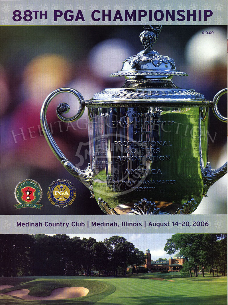 The Official Journal of the 2006 PGA Championship magazine, dated Aug 14-20, 2006.