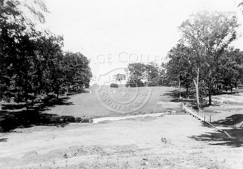 1st Tee, Course No.2 in 1927
