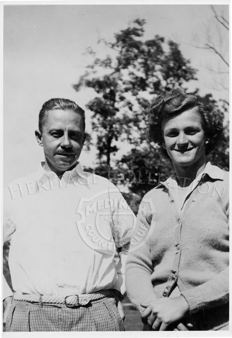 Cleo Potter & Babe Didrikson.