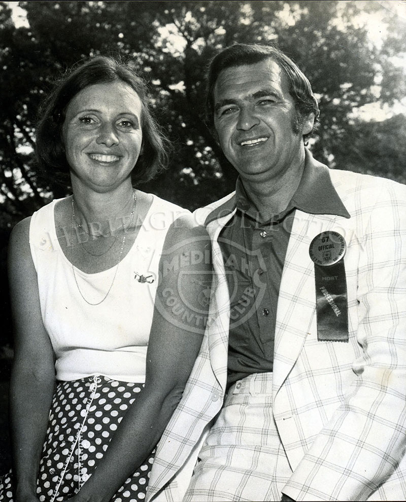 John and Kay Marschall taken during the 75th U.S.Open.