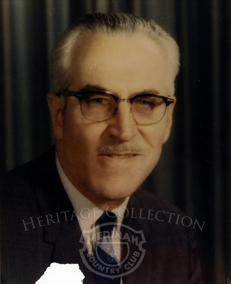 Charles Stout. President 1972-73. Color