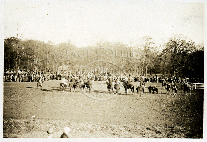 Photo of Equestrian Show.Circa 1920s.