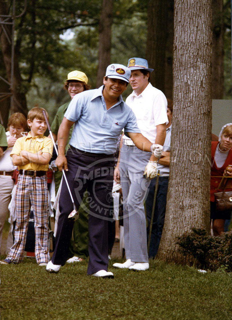 A smiling Lee Trevino is photographed during the 75th U.S. Open Championship.