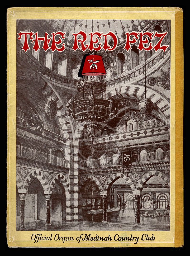 The Red Fez, Volume 1 No.12, January 1926.