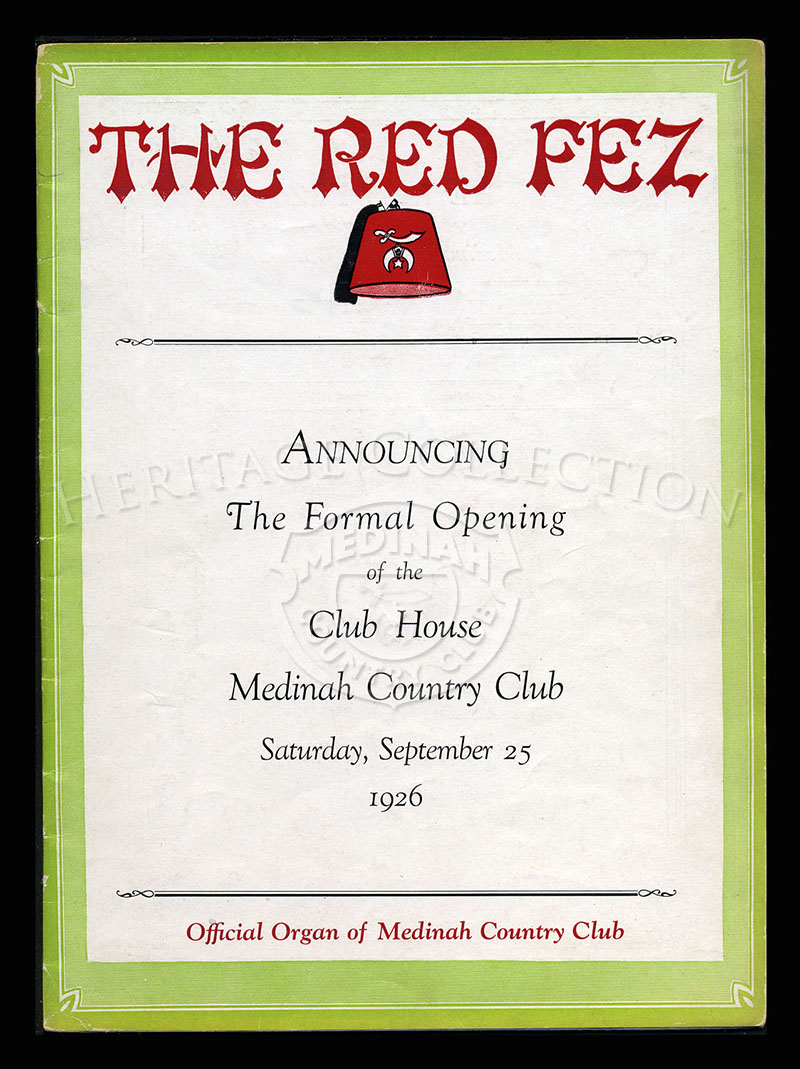 The Red Fez, Volume 2 No.6, July-August 1926.