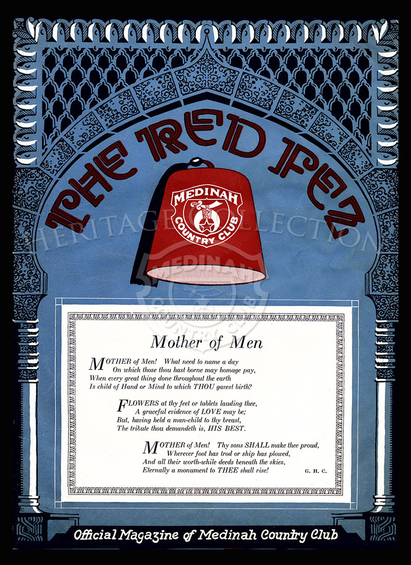 The Red Fez, Volume 3 No.3, May 1927.