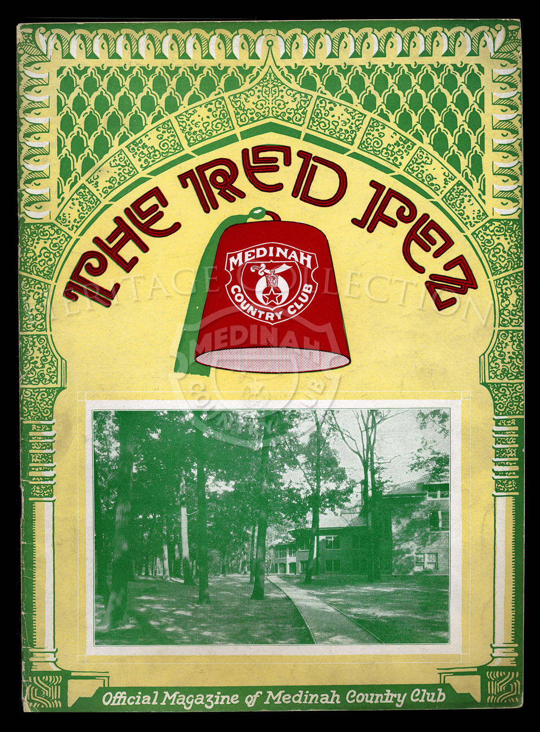 The Red Fez, Volume 3 No.6, August 1927.