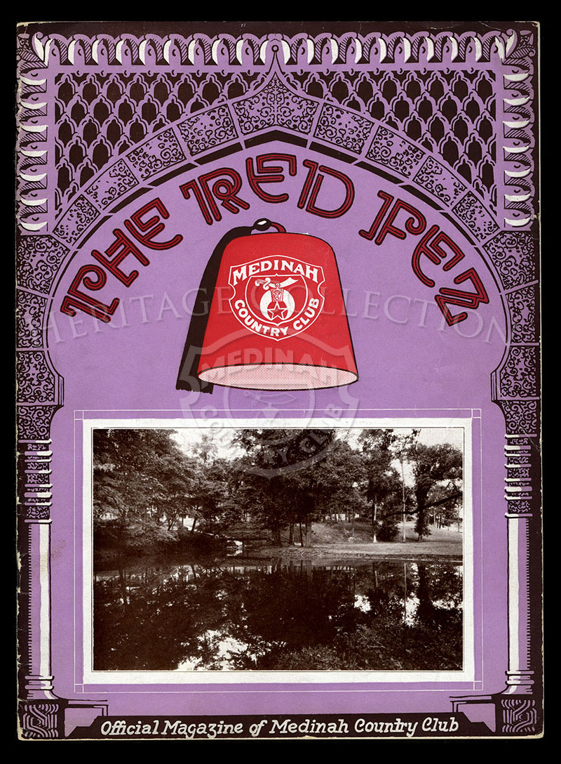 The Red Fez, Volume 3 No.7, September 1927.