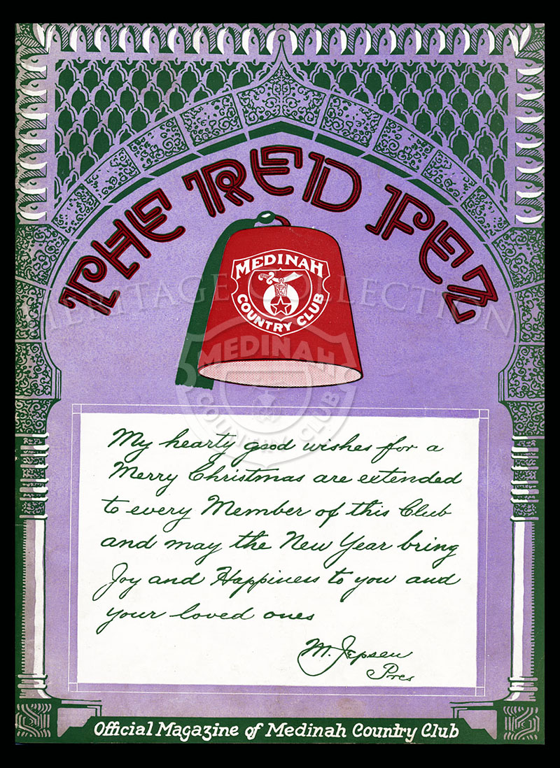 The Red Fez, Volume 3 No.10, December 1927.