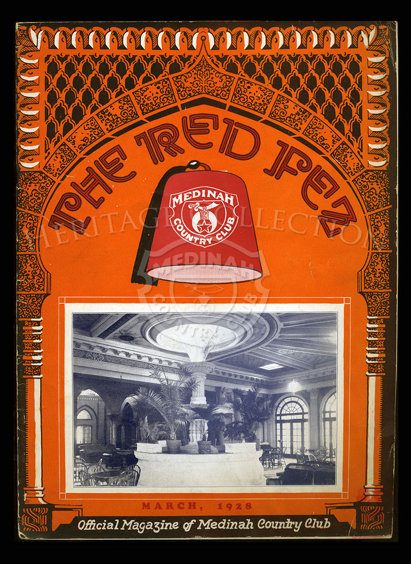 The Red Fez, Volume 4 No.3, March 1928.