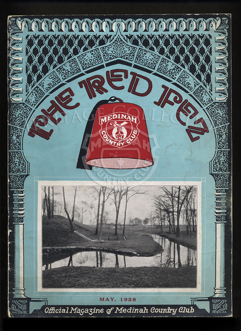 The Red Fez, Volume 4 No.5, May 1928.