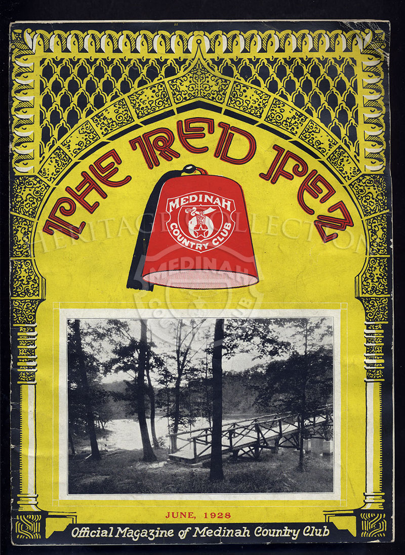 The Red Fez, Volume 4 No.6, June 1928.