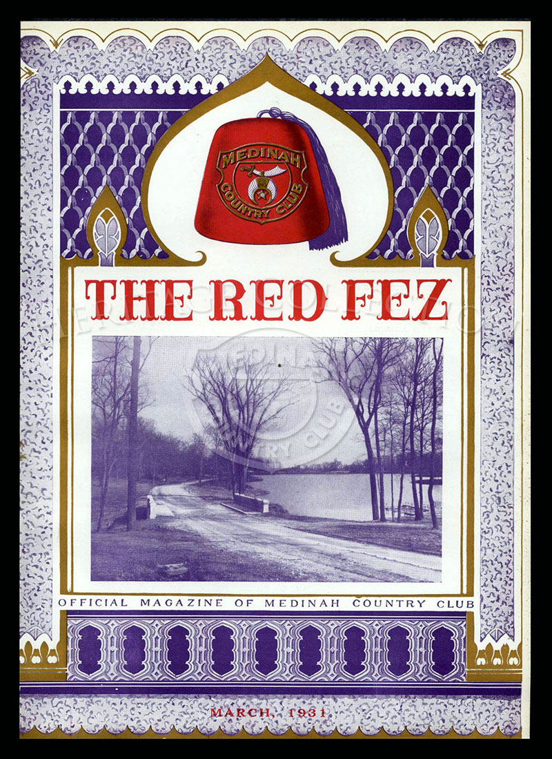 The Red Fez, Volume 7 No.3, March 1931.