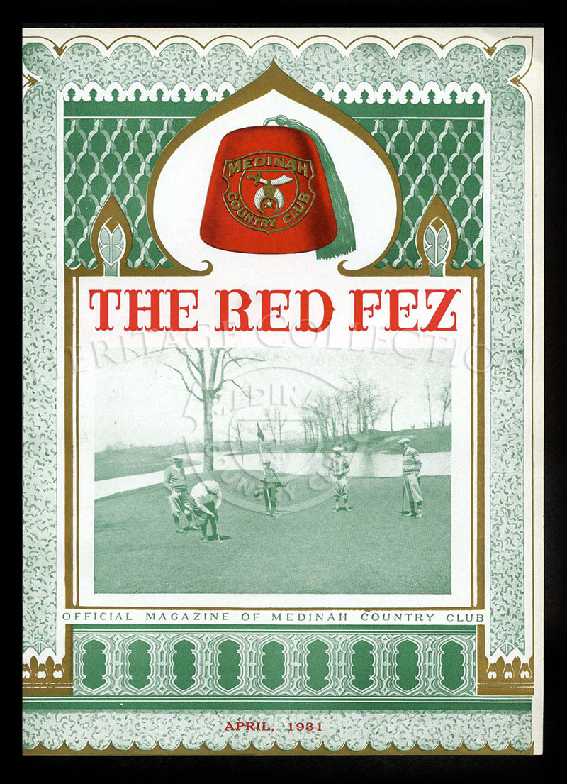 The Red Fez, Volume 7 No.4, April 1931.