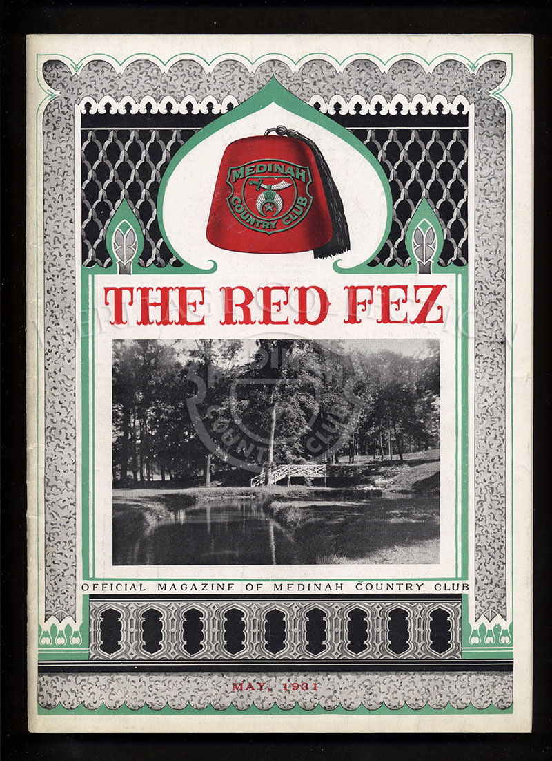 The Red Fez, Volume 7 No.5, May 1931.