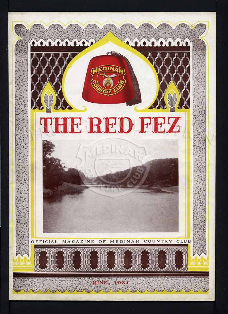 The Red Fez, Volume 7 No.6, June 1931.