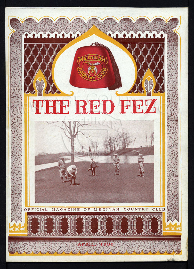 The Red Fez, Volume 8 No.4, April 1932.