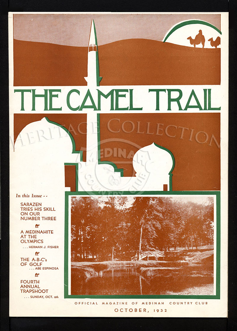 The Camel Trail, Volume 8 No. 9, October 1932.