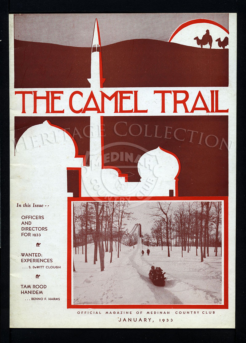 The Camel Trail, Volume 9 No.1, January 1933.