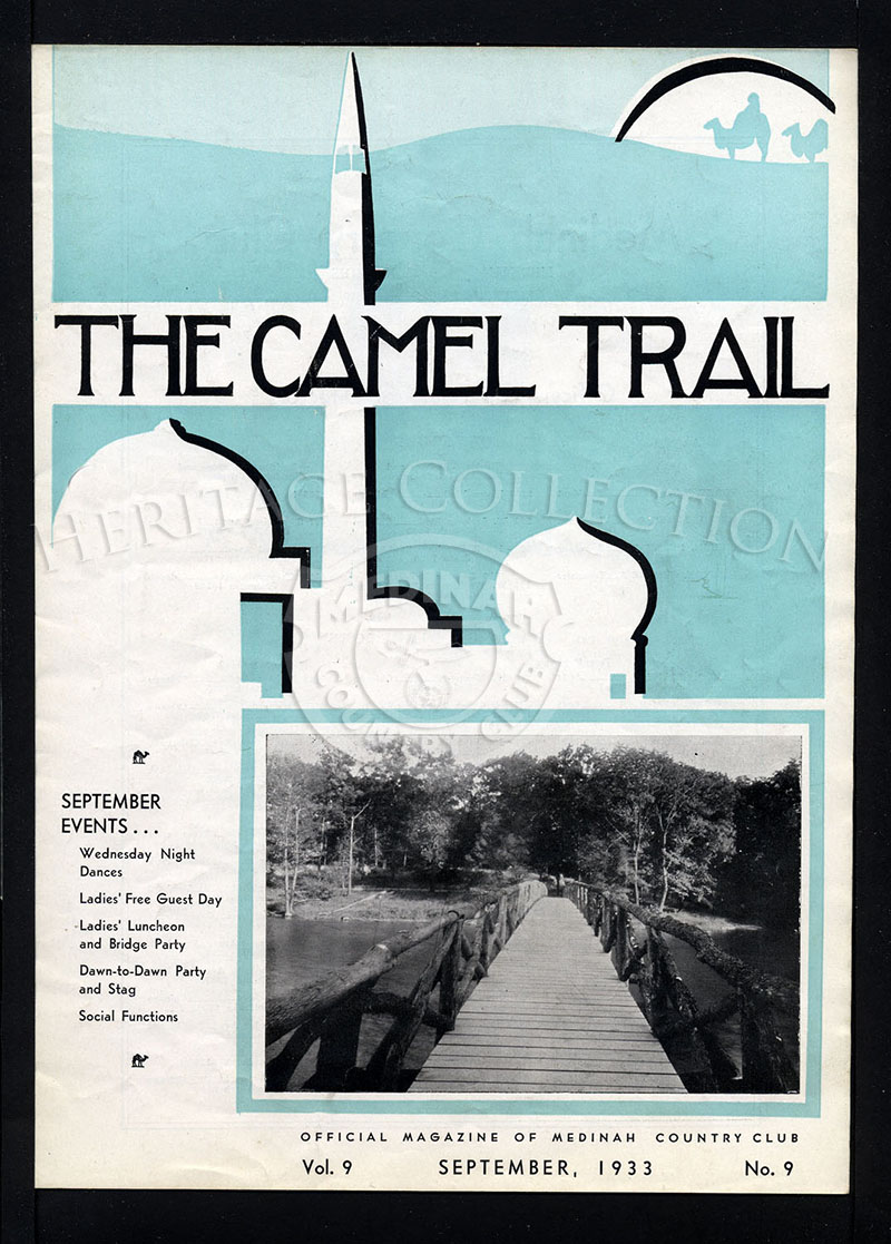 The Camel Trail, Volume 9 No.9, September 1933.