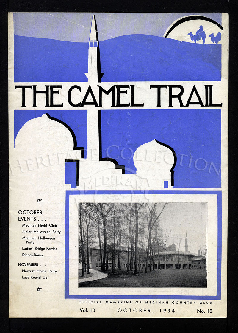 The Camel Trail, Volume 10 No.10, October 1934.