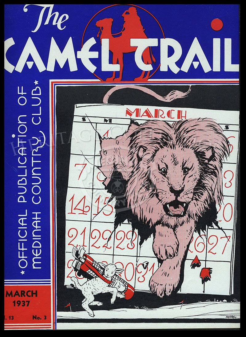The Camel Trail, Volume 13 No.3, March 1937. One issue not complete.