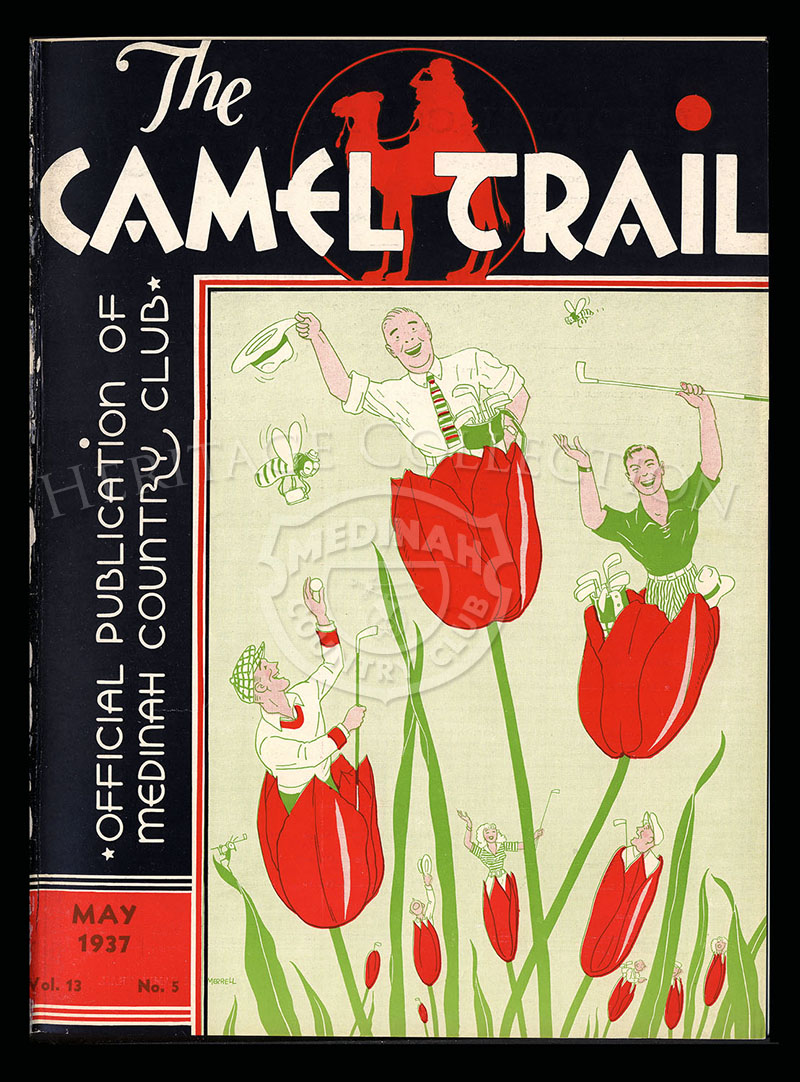 The Camel Trail, Volume 13 No.5, May 1937. One issue not complete.