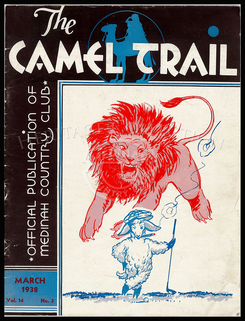 The Camel Trail, Volume 14 No.3, March 1938. One issue not complete