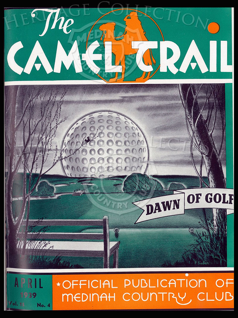 The Camel Trail, Volume 15 No.4, April 1939. One issue not complete.