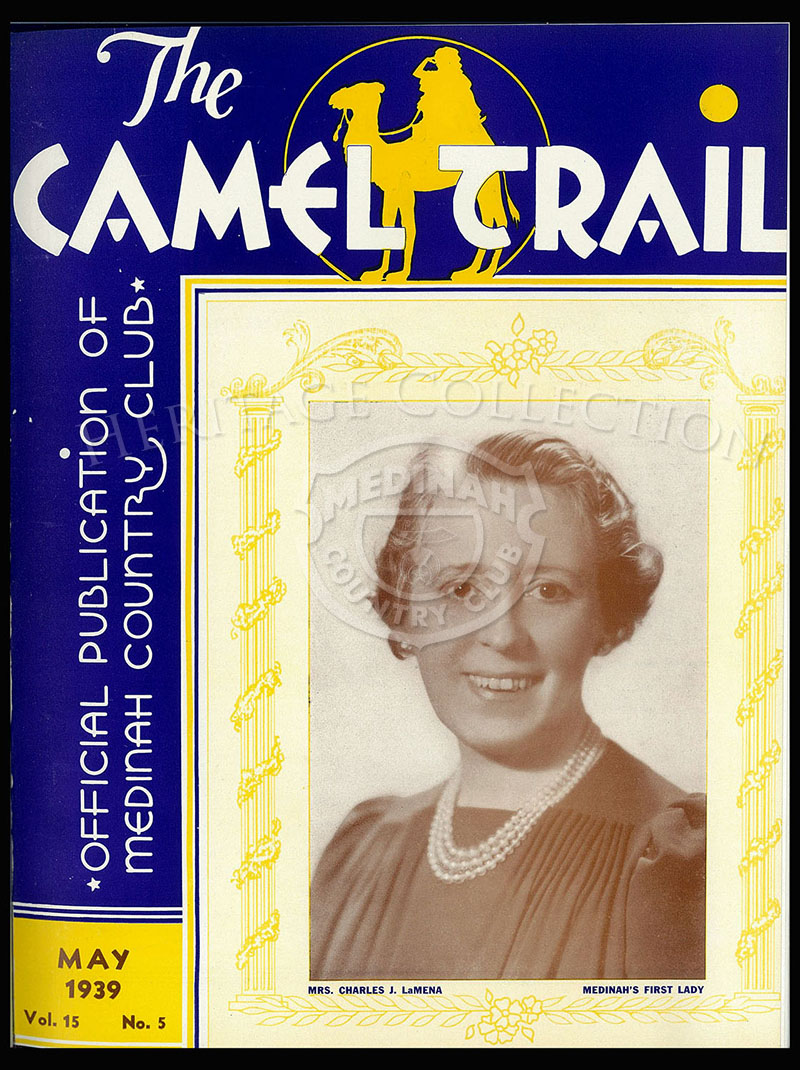The Camel Trail, Volume 15 No.5, May 1939. One issue not complete.