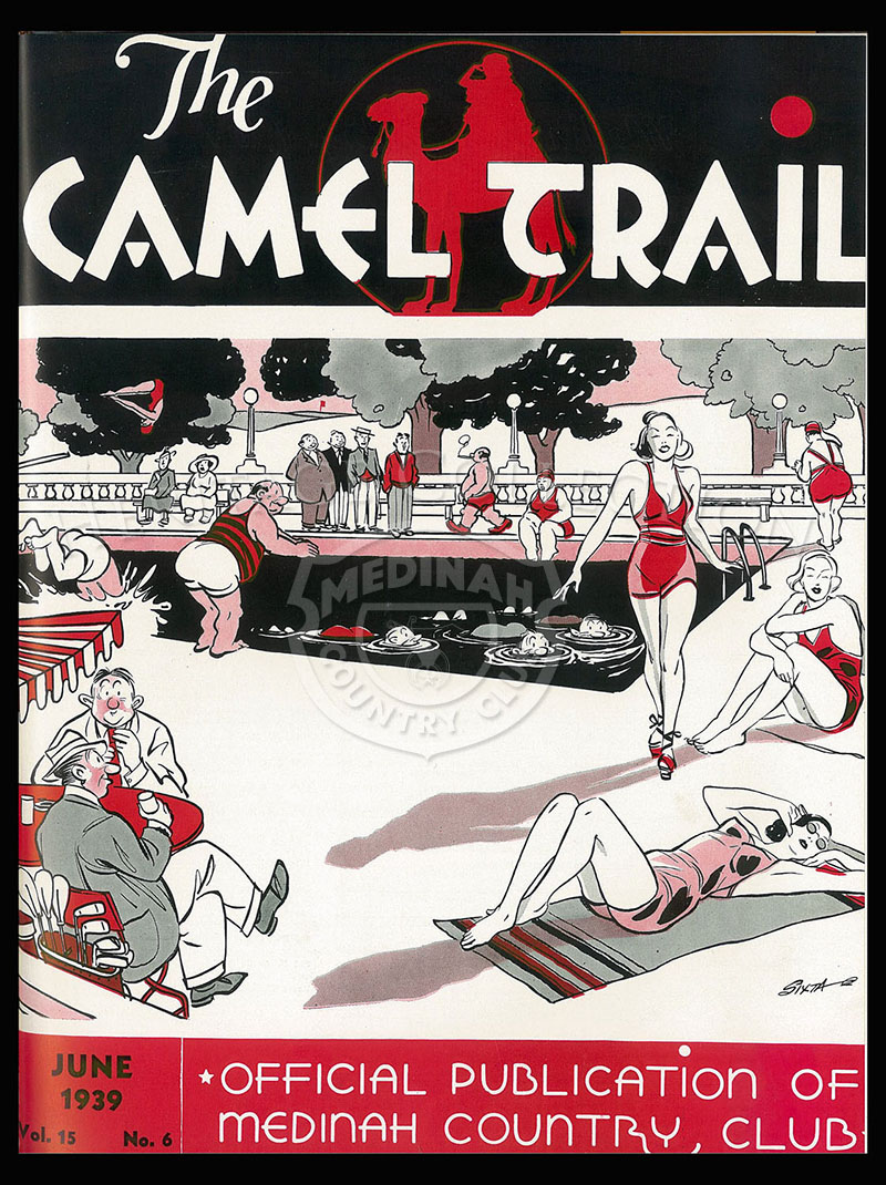 The Camel Trail, Volume 15 No.6, June 1939. One issue not complete.
