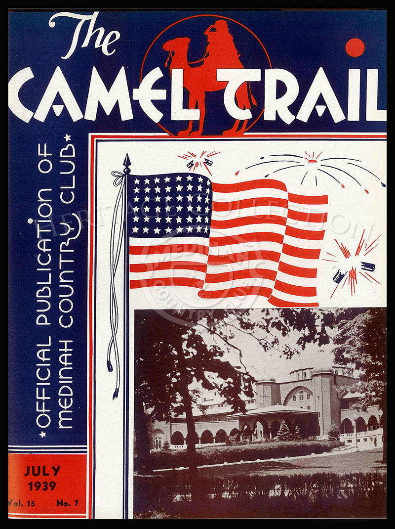 The Camel Trail, Volume 15 No.7, July 1939.