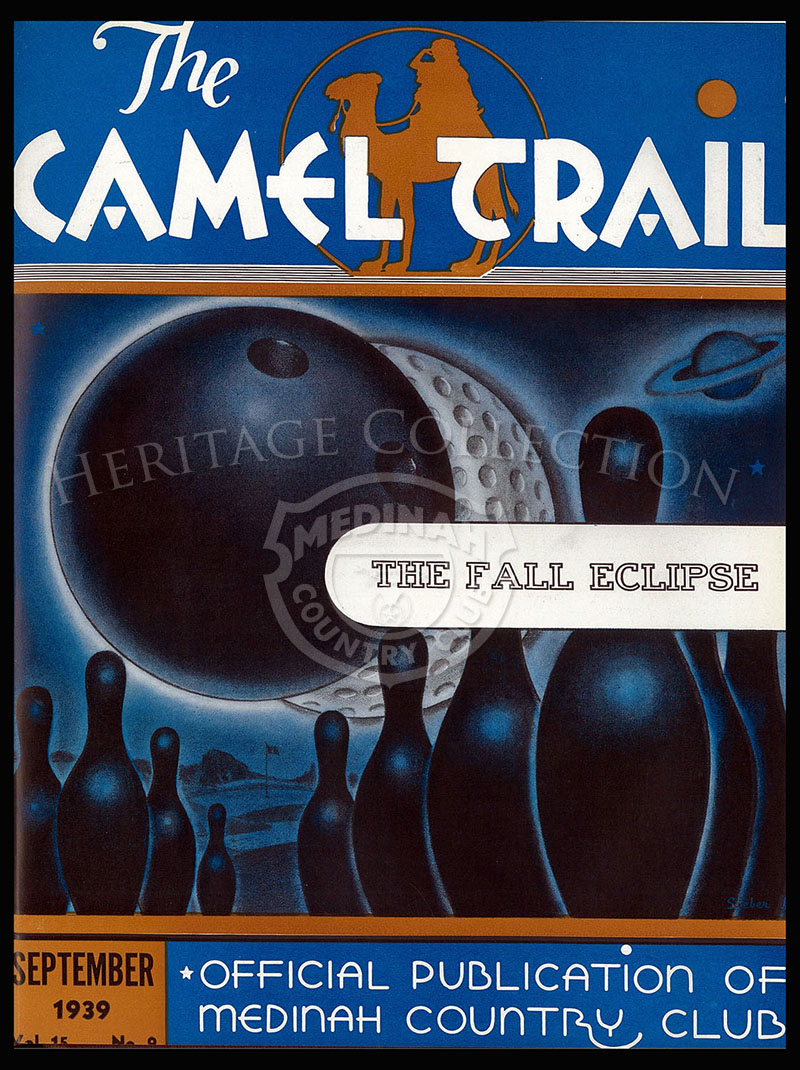 The Camel Trail, Volume 15 No.9, September 1939. One issue not complete.