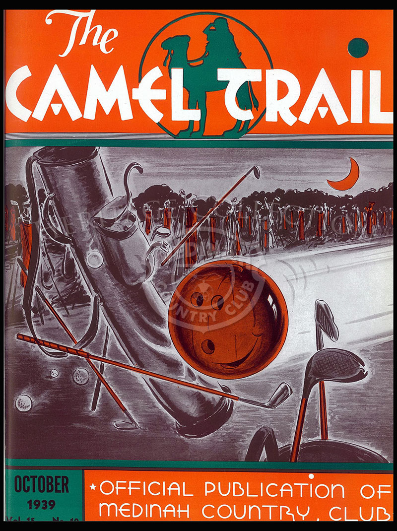 The Camel Trail, Volume 15 No.10, October 1939.