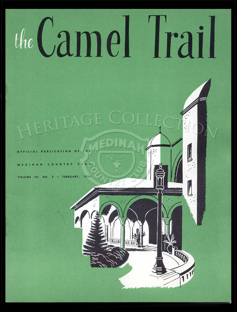 The Camel Trail, Volume 30 No.2, February 1954.