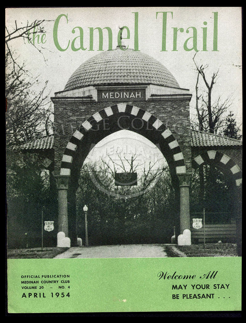 The Camel Trail, Volume 30 No.4, April 1954.